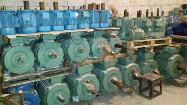 Электродвигатель 5.5квт,7.5,11.15,22,30,37,45,55,75,90 АИР,4АМ, 2в б.у