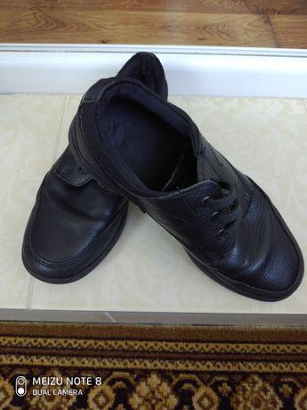 Туфли детские кожаные