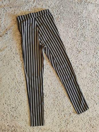 Штани стрейчеві в полоску H&M
