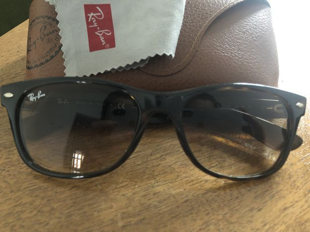 Okulary RayBan oryginalne brązowe