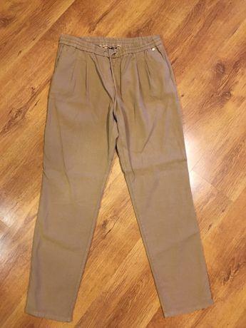Spodnie Massimo Dutti rozmiar 42 spodnie lniane