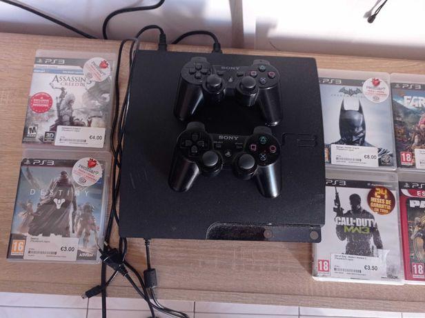 Vendo PlayStation 3 com 500mb