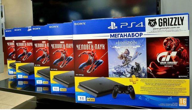 Игровая приставка Sony PlayStation 4 Slim 1Tb Black в «GRIZZLY»