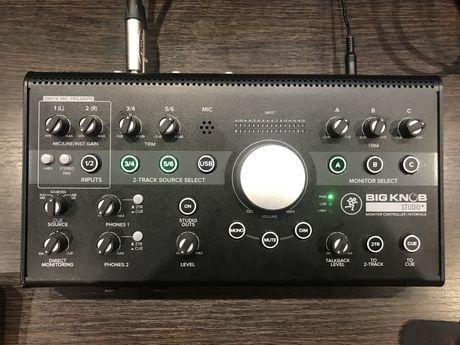 Мониторный контроллер Mackie Big Knob Studio +
