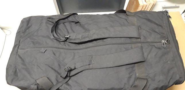 Duża torba transportowa, czarna