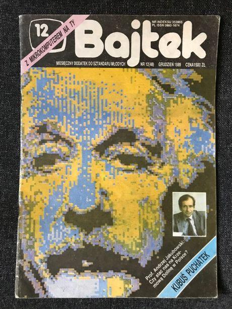 BAJTEK Czasopismo - 1989 nr 1,2,5,12