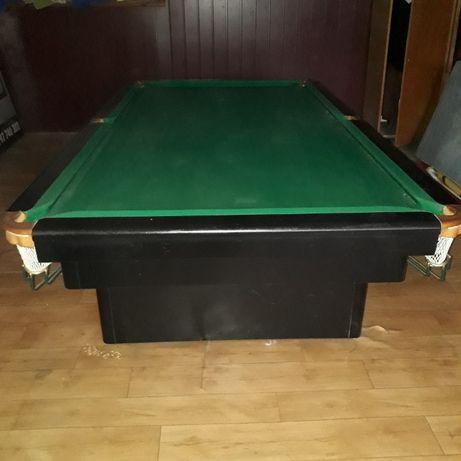 Stół snooker 9 stóp, 280x153cm, bile snooker i pool, licznik punktów