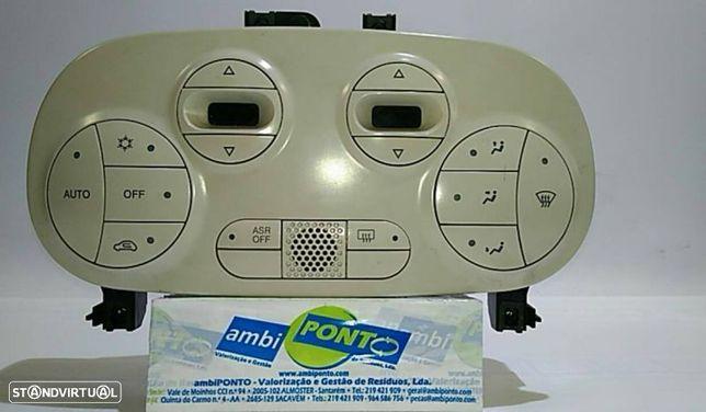 Comando / Modulo De Ar Condicionado / Ac Fiat 500 (312_)