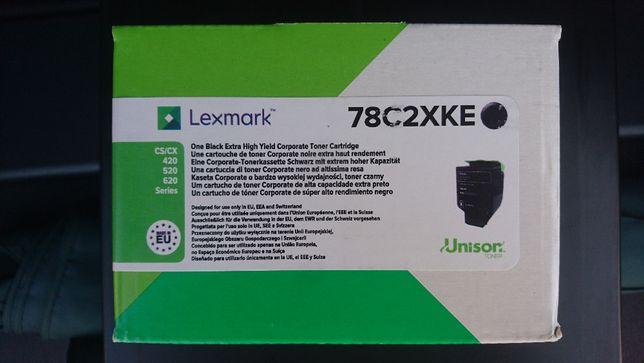 Toner Lexmark 78C2XKE oryginał drukarki nowy Czarny CS/CX
