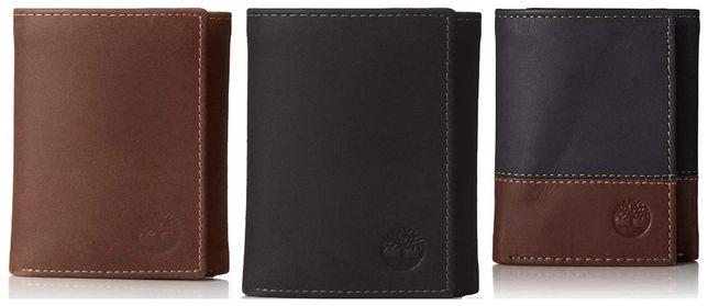 Мужской кожаный кошелек Timberland портмоне натуральная кожа оригинал