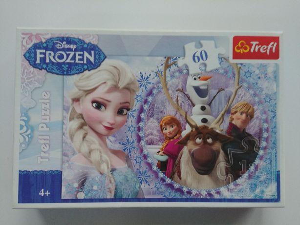 puzzle Frozen Kraina lodu 60 elementów