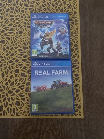 PlayStation Ps 4 Real Farm, Ratchet & Clank! Wymiana!
