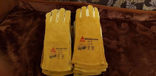 Rękawice spawalnicze niemieckiej firmy HASE  rozmiar 10 NOWE