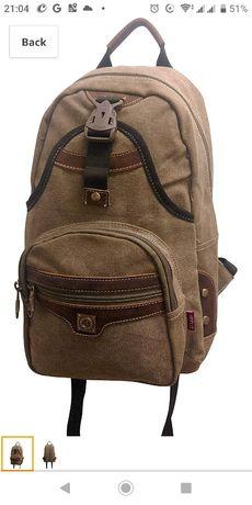 Повседневный рюкзак из натуральной кожи