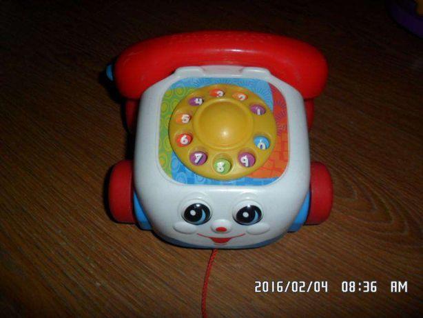 telefon fisher price zabawka