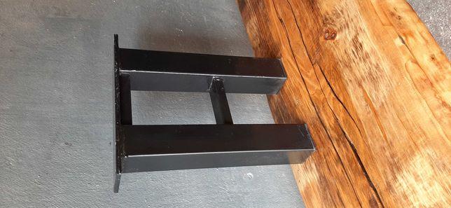 Nogi stalowe do ławki ławy stołu