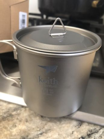 Kubek tytanowy keith 350 ml