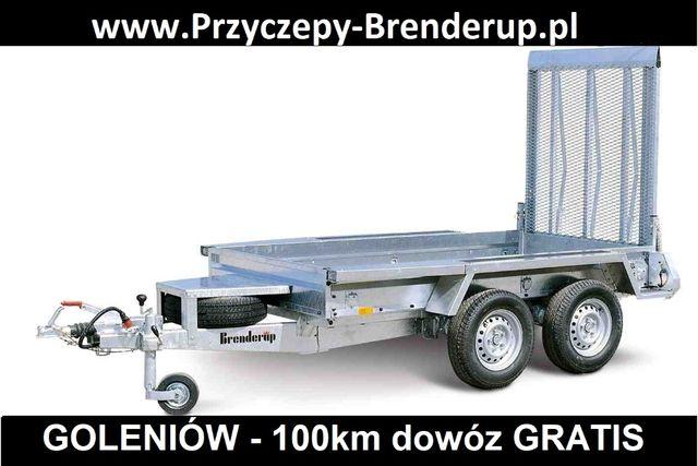 Brenderup MT2600 pod mini koparkę DOWÓZ GRATIS / minikoparka MT 2600