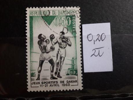 znaczki pocztowe Afryka - sport 1 szt.