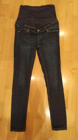 Dżinsowe spodnie ciążowe H&M Mama r.40