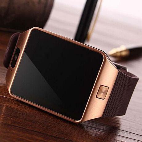 Vendo Relógio SmartWatch Bluetooth NOVO - Castanho ou Preto.
