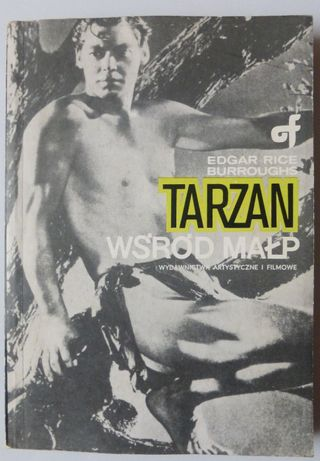 Książka Tarzan wśród małp 1989 Edgar Rice Burroughs klasyka