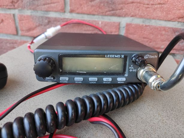 CB radio M Tech Legend 3 + antena