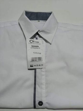 Biała nowa koszula.