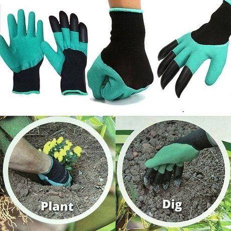 Перчатки для рыхления почвы, 2 шт., Garden Genie Gloves