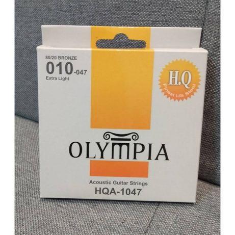 Struny do gitary akustycznej Olympia HQA-1047