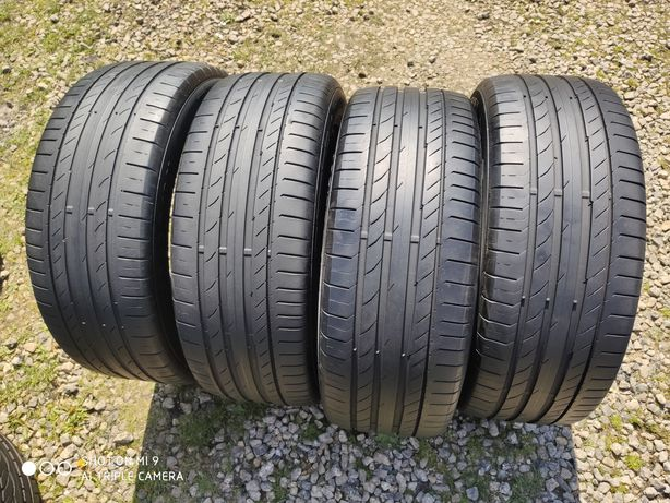 235/55r18 Continental ContiSportContact5 KOMPLET stan idealny