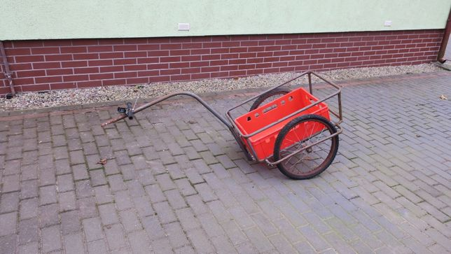 Wózek do roweru przyczepka towarowa