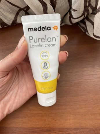 Крем Purelan 100 Medela Lanolin для заживления трещин сосков пурелан