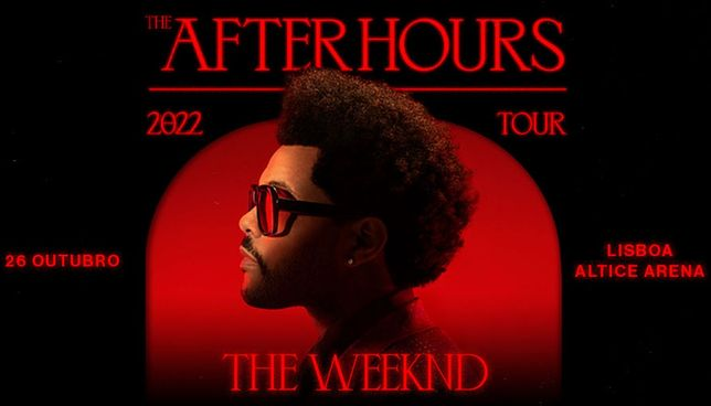 Bilhete The Weeknd Plateia em Pé