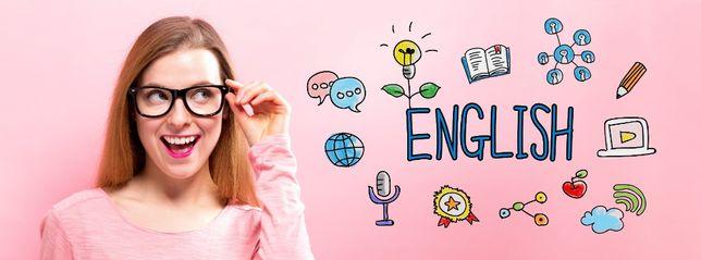 angielski korepetycje, konwersacje Native speaker online / z dojazdem