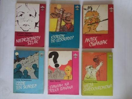 książki z serii Biblioteka Szarej Lilijki