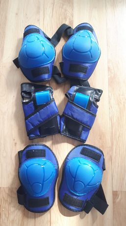 Ochraniacze na łokcie, kolana, nadgarstki