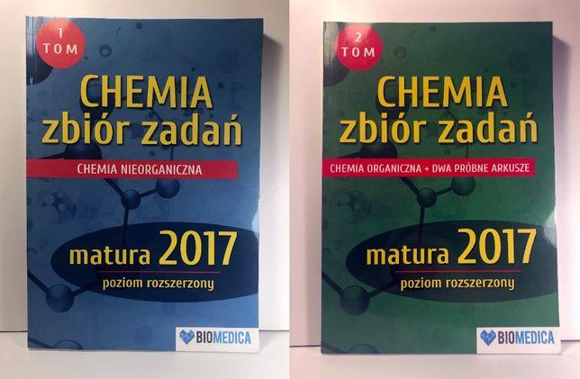 KOMPLET Biomedica tom 1 i 2 CHEMIA matura poziom rozszerzony