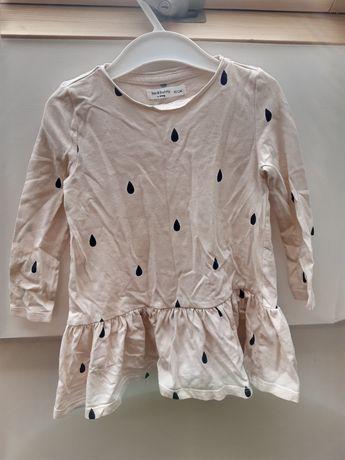Sukienka sinsey 86-92 na dl rękaw
