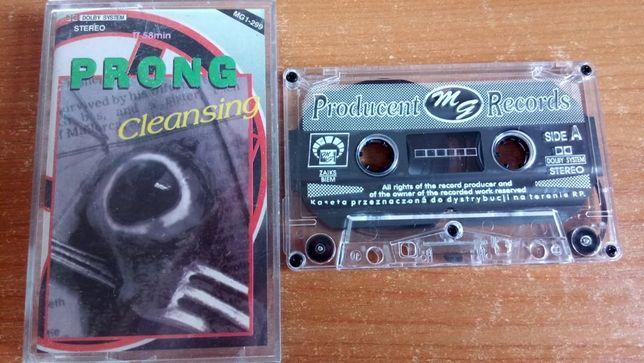 KASETA MAGNETOFONOWA heavy metal Pong – Cleansing, 1994