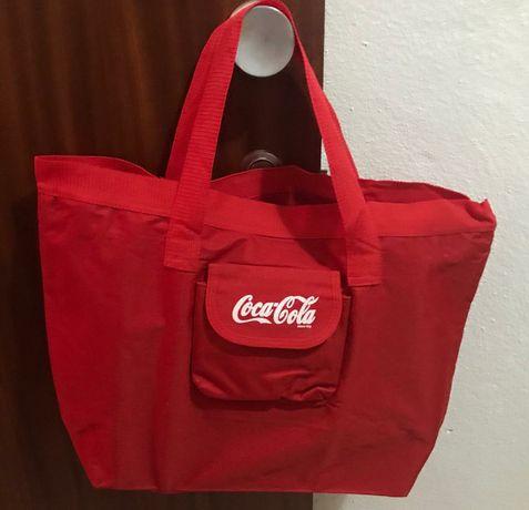 Saco lona Multiusos Coca-Cola NOVO