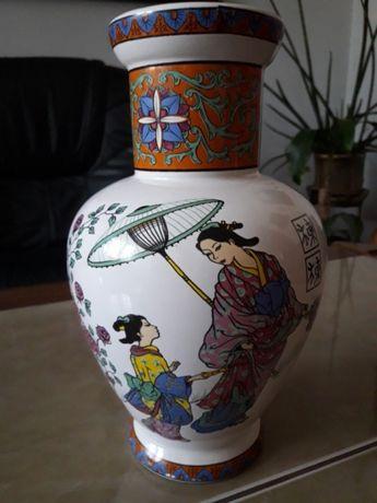 Stary sygnowany wazon - Chiny