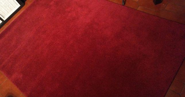 Tapete Vermelho (Bordeaux) 140X200cm - como novo!