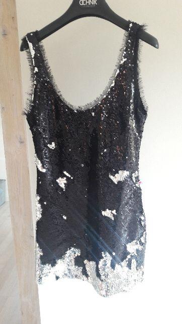Sukienka cekinowa Lou w rozmiarze S