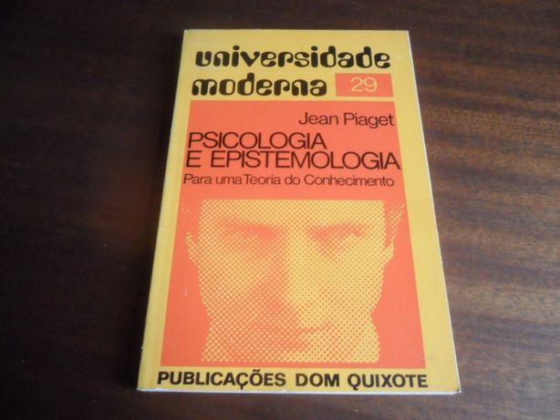 """""""Psicologia e Epistemologia"""" de Jean Piaget"""
