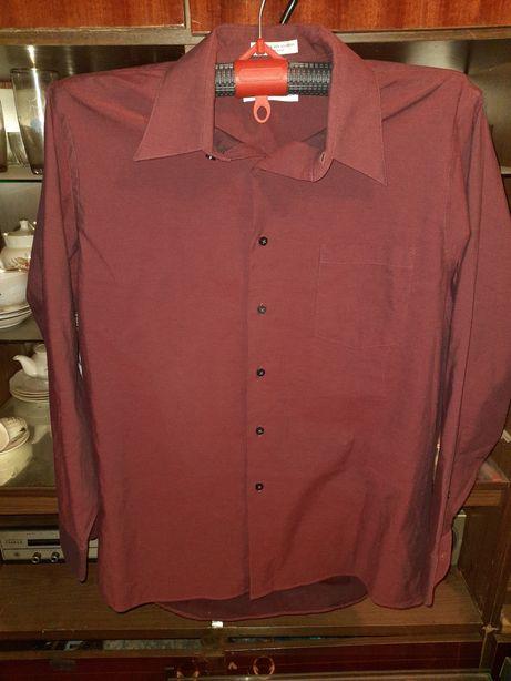 Рубашка бордо рр.54-56.