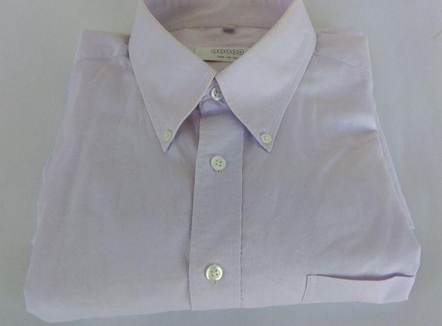 Męska koszula CANDA j.fiolet Rozm.XL/44 , 75% Bawełna