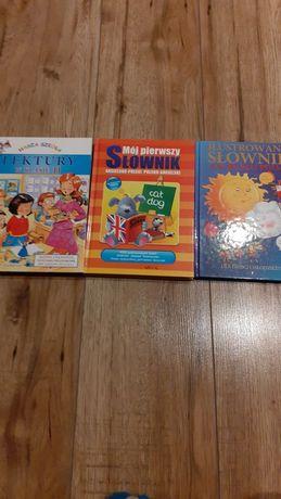 Lektury dla klas 2 oraz pierwsze słowniki dla dzieci