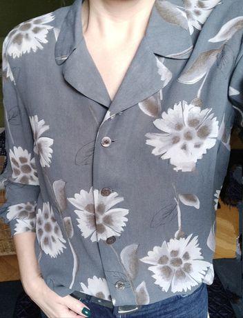 Bluzka z długim rękawem, vintage r36