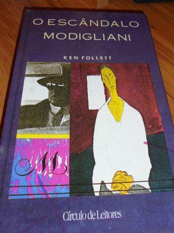 Livro O Escândalo Modigliani